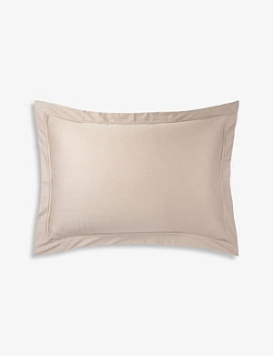 YVES DELORME Triomphe pierre king pillow case 90cm x 50cm