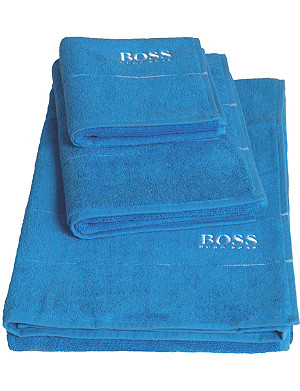 BOSS Plain Egyptian cotton towel