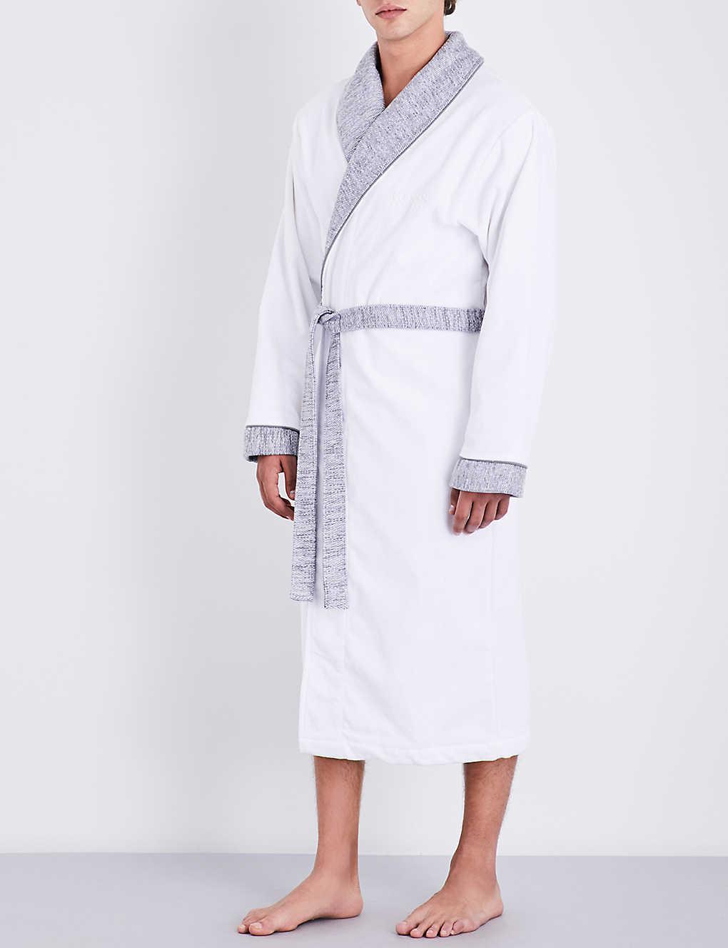 bf223890b5ca BOSS - Lord Kimono dressing gown | Selfridges.com