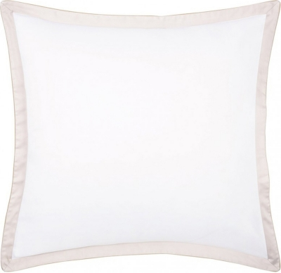 BOSS Lord nacre square cotton pillowcase