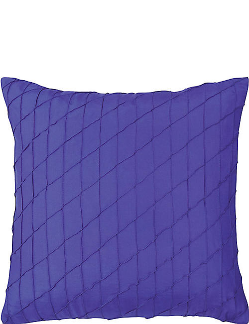 BOSS Ray Blue silk cushion cover