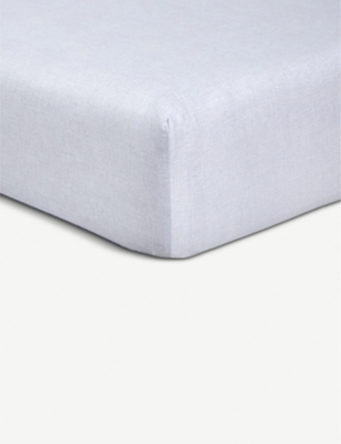 BOSS Oceanwave cotton fitted sheet