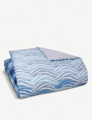 BOSS Oceanwaves cotton duvet cover