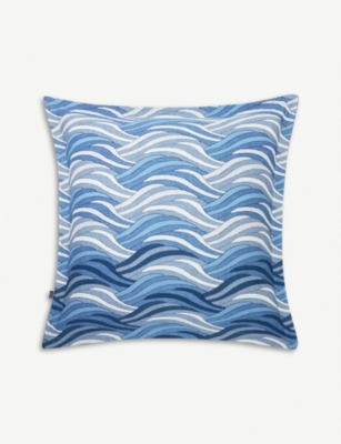 BOSS Oceanwaves square pillowcase 65x65cm