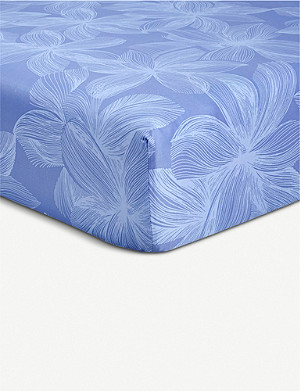 BOSS Windrose cotton fitted sheet 300cm x 240cm