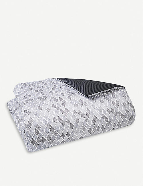 BOSS Filigree cotton sateen duvet cover range