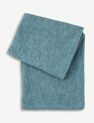BOSS Nevada textured cotton throw 130x170cm