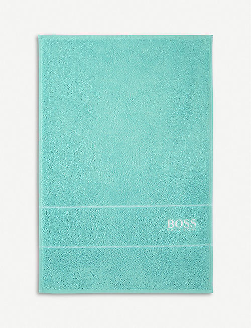 BOSS Plain Egyptian cotton towel range