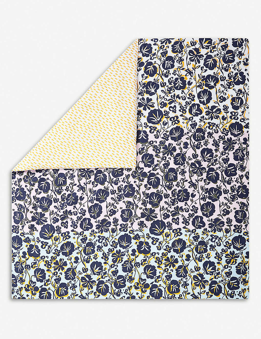 18adcd8413 KENZO KFLORAL floral and geometric cotton king duvet cover 240x220cm