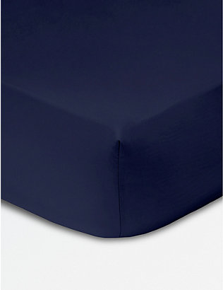 KENZO: Iconic egyptian cotton fitted sheet