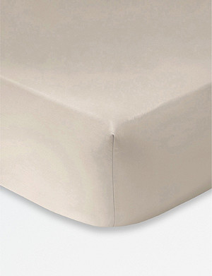 KENZO Iconic egyptian cotton fitted sheet