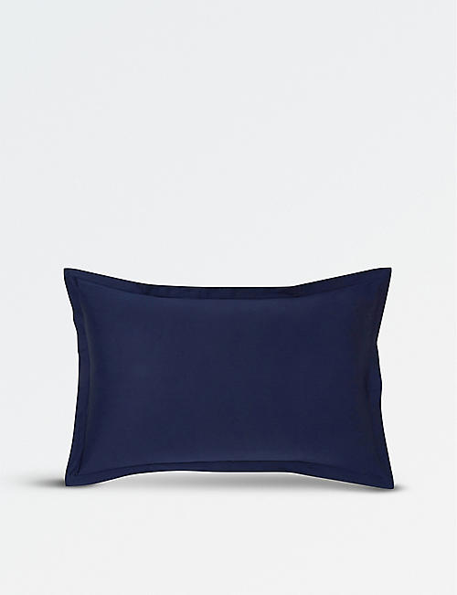 KENZO Iconic cotton standard oxford pillowcase