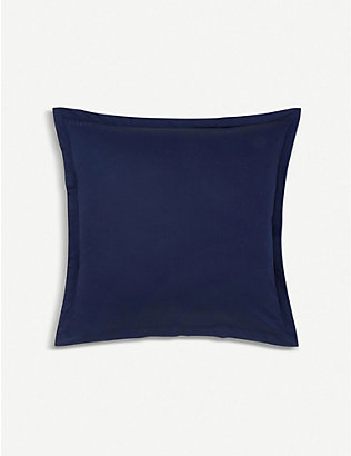 KENZO: Iconic sateen cotton square pillowcase 65x65cm