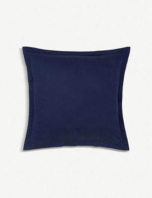 KENZO Iconic sateen cotton square pillowcase 65x65cm
