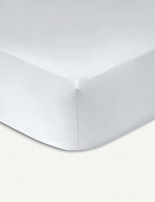 KENZO Iconic Egyptian-cotton single fitted sheet