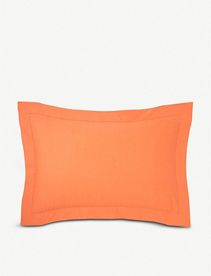 BOSS Alcove Orange cotton pillowcase 30x50cm