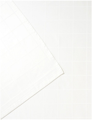 OLIVIER DESFORGES Baptiste cotton super king flat sheet 270cm x 300cm