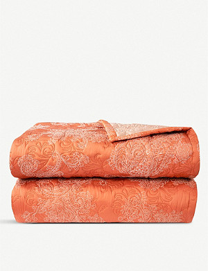 YVES DELORME Apparat cotton sateen quilted duvet cover
