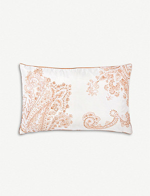 YVES DELORME Apparat cotton sateen pillowcase