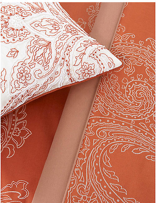 YVES DELORME Apparat cotton sateen flat sheet range