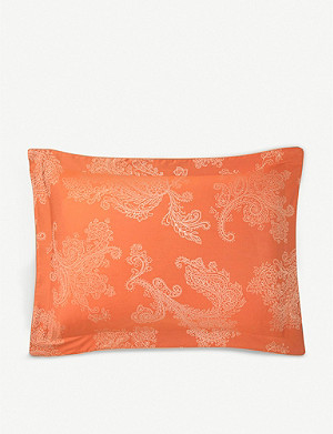 YVES DELORME Apparat oxford cotton pillowcase 50cm x 75cm