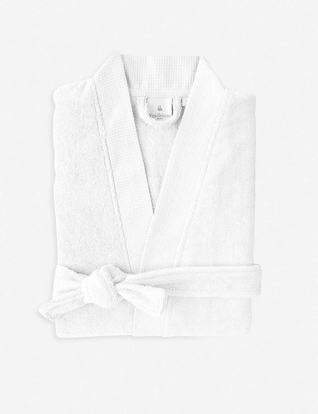 YVES DELORME: Étoile cotton-blend bathrobe