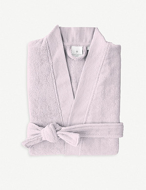 YVES DELORME Étoile cotton-blend bathrobe