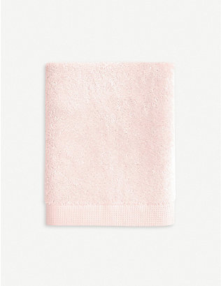 YVES DELORME: Étoile Blush cotton hand towel