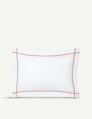 YVES DELORME: Athena oxford pillowcase 50x75cm