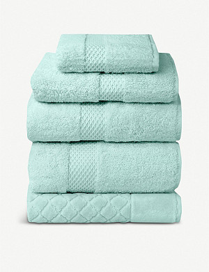 YVES DELORME Étoile cotton blend bath towel 70 x 140 cm
