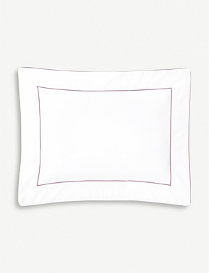 YVES DELORME Flandre cotton pillowcase 21cm x 32cm