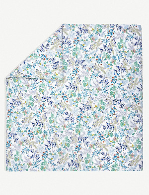 YVES DELORME Flora cotton-percale duvet cover
