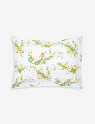 YVES DELORME Lucine cotton pillowcase 50x75cm