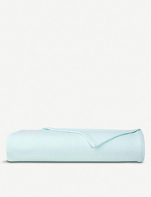 YVES DELORME Maillon bedcover throw