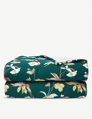 YVES DELORME Miami cotton-sateen bed cover range