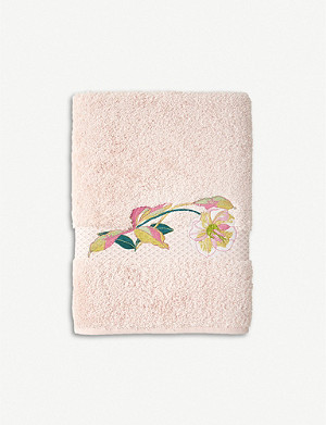 YVES DELORME Miami combed cotton bath sheet range