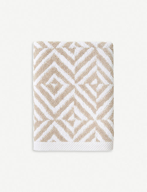 YVES DELORME Ombrage cotton-jacquard towel range