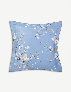 YVES DELORME Ramage cotton pillowcase