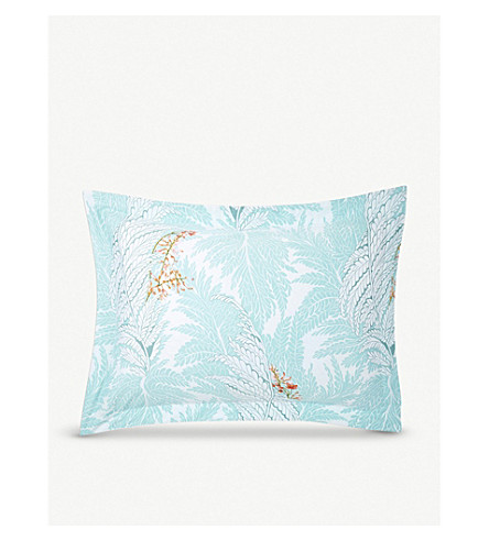YVES DELORME - Sources printed cotton pillow case 75cm x 50cm ... 46fcc642c