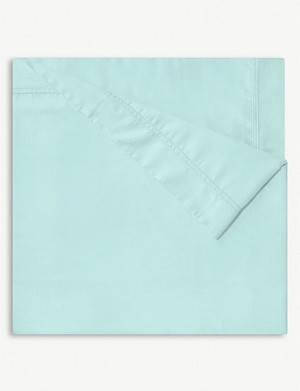 YVES DELORME Triomphe cotton single flat sheet
