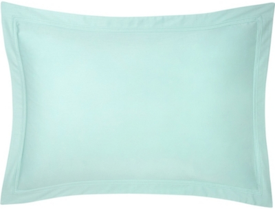 YVES DELORME Triomphe cotton-sateen standard pillow case 50x75cm
