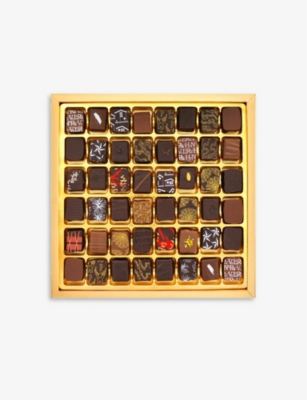 ARTISAN DU CHOCOLAT Black and Gold Couture box of 48