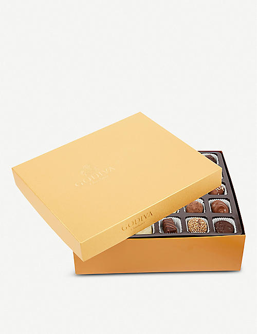 GODIVA Gold chocolate assortment box of 120