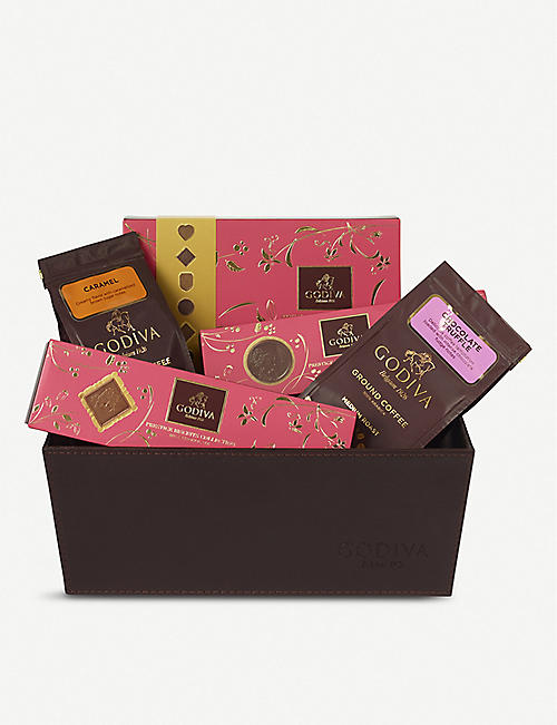 GODIVA Coffee Break chocolate hamper