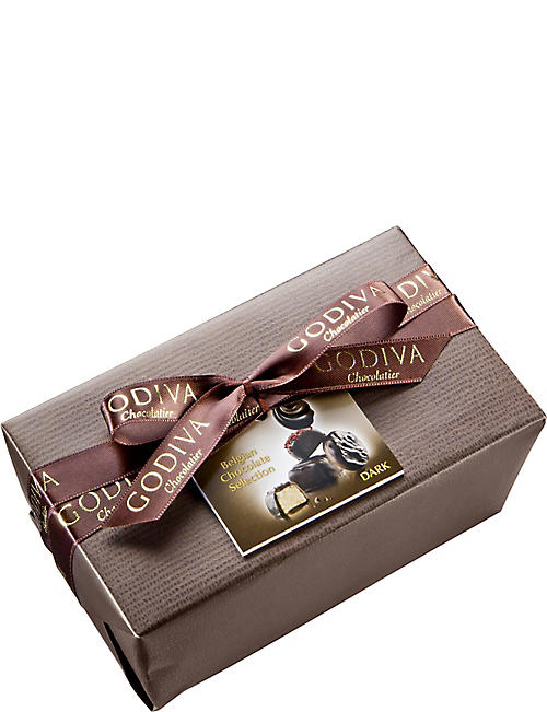 GODIVA All Dark Chocolate Ballotin 500g