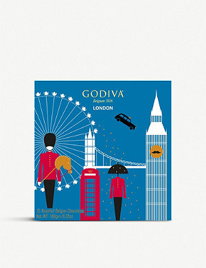GODIVA London Souvenir chocolates box of 15