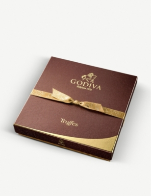 GODIVA Truffe Signature assorted chocolate truffles box of 16