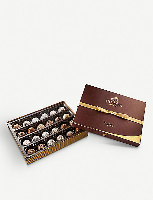 GODIVA Truffe Signature assorted chocolate truffles box of 24