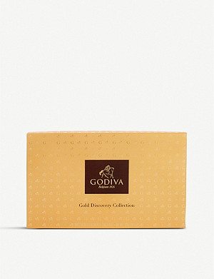 GODIVA Gold Discovery chocolate assortment box of 28