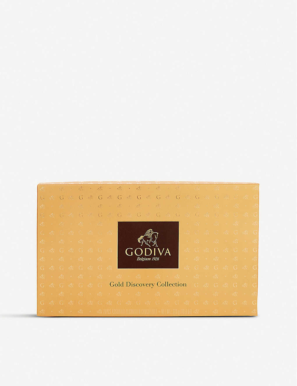 GODIVA: Gold Discovery chocolate assortment box of 28